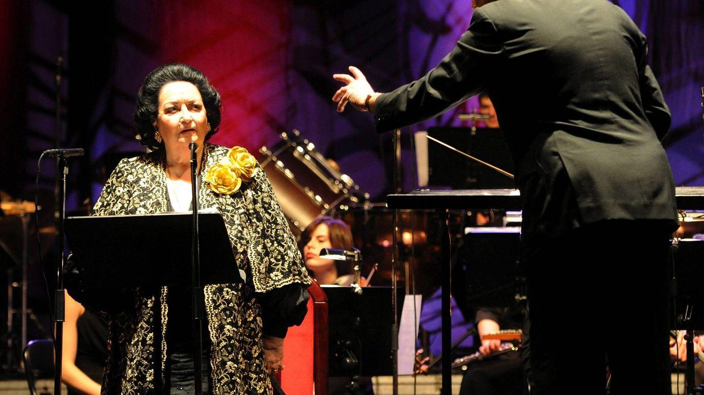La artista, en un concierto en Polonia. (EFE)