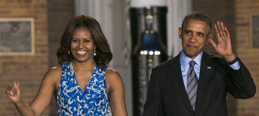 Foto: El presidente y su esposa, en un desfile celebrado en Washington en junio
