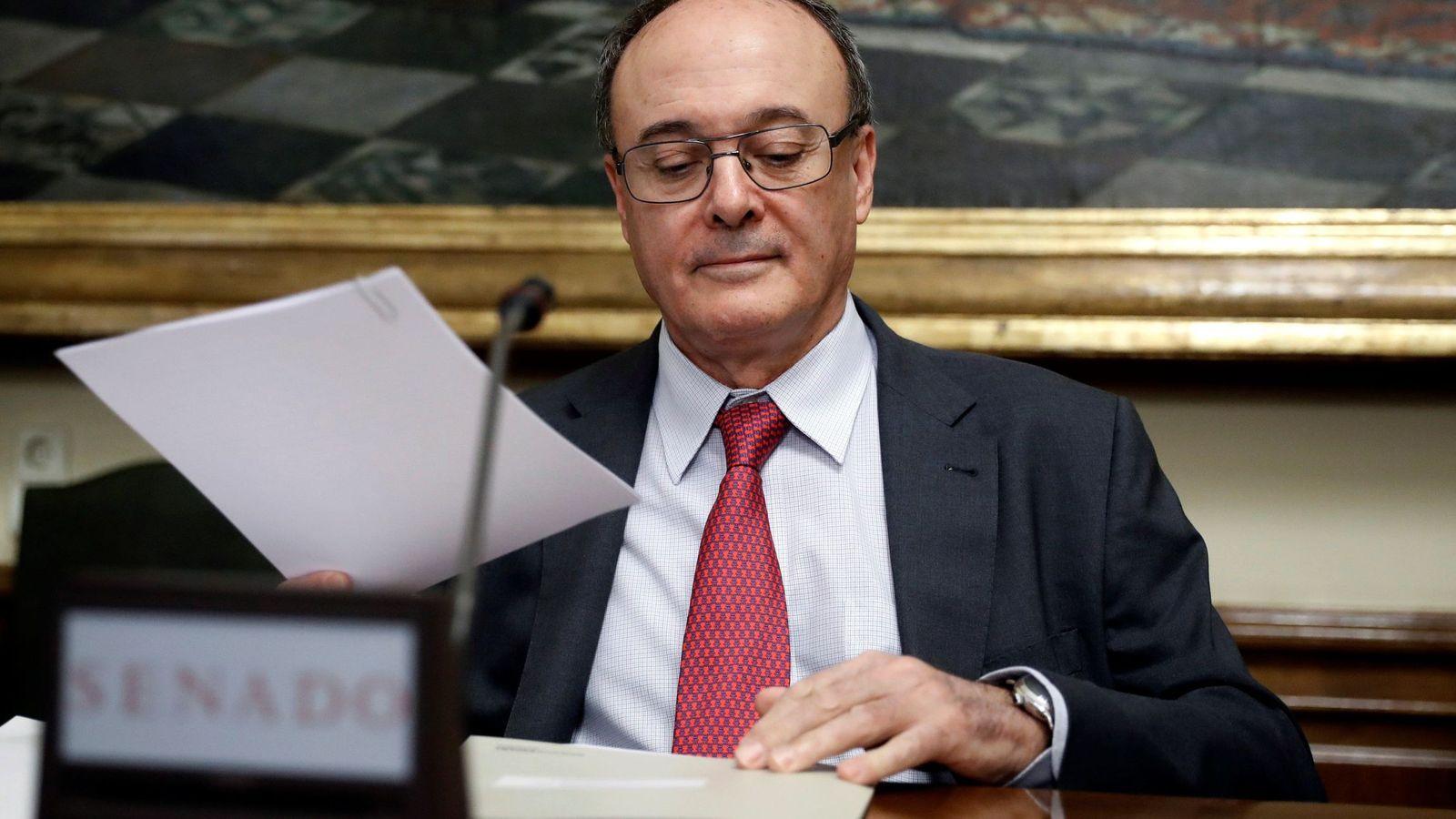 Foto: El gobernador del Banco de España, Luis María Linde