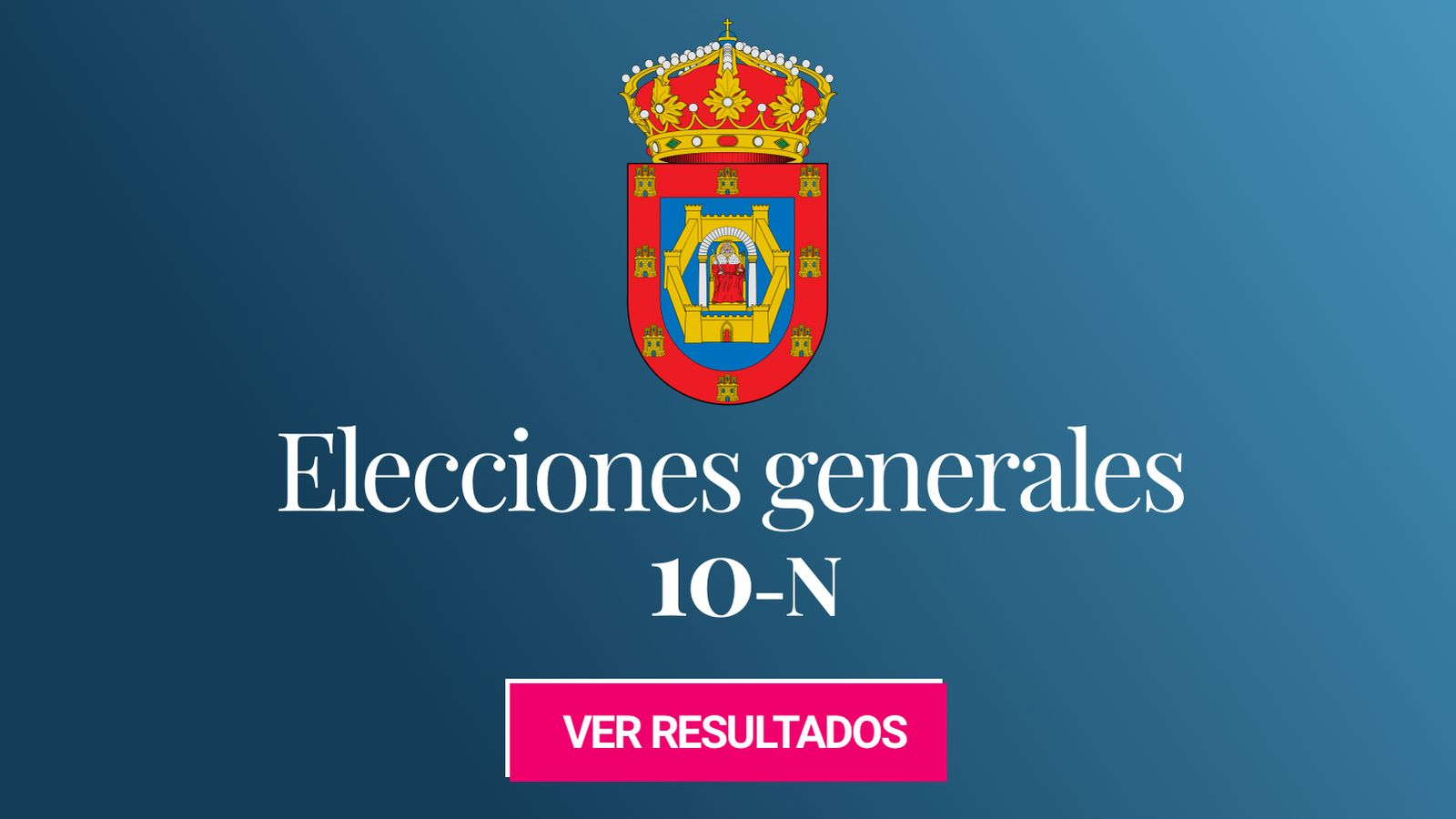 Foto: Elecciones generales 2019 en Ciudad Real. (C.C./EC)