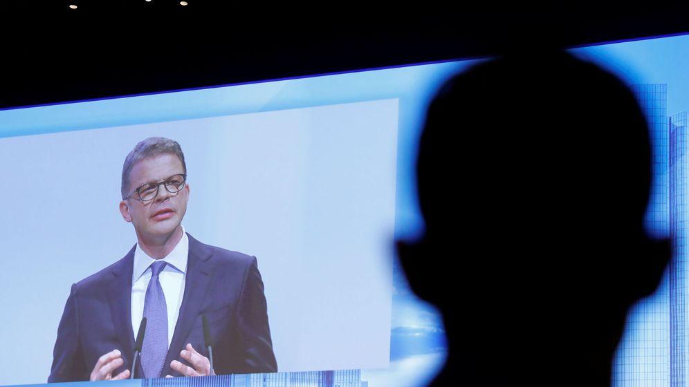 Foto: Christian Sewing, CEO de Deutsche Bank (Reuters)