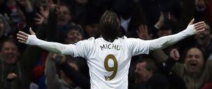 Michu, el indiscutible: puede presumir de tener mejores porcentajes de gol que Cristiano Ronaldo