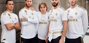 Post de Así es la nueva camiseta del Real Madrid: vuelve al dorado y a los