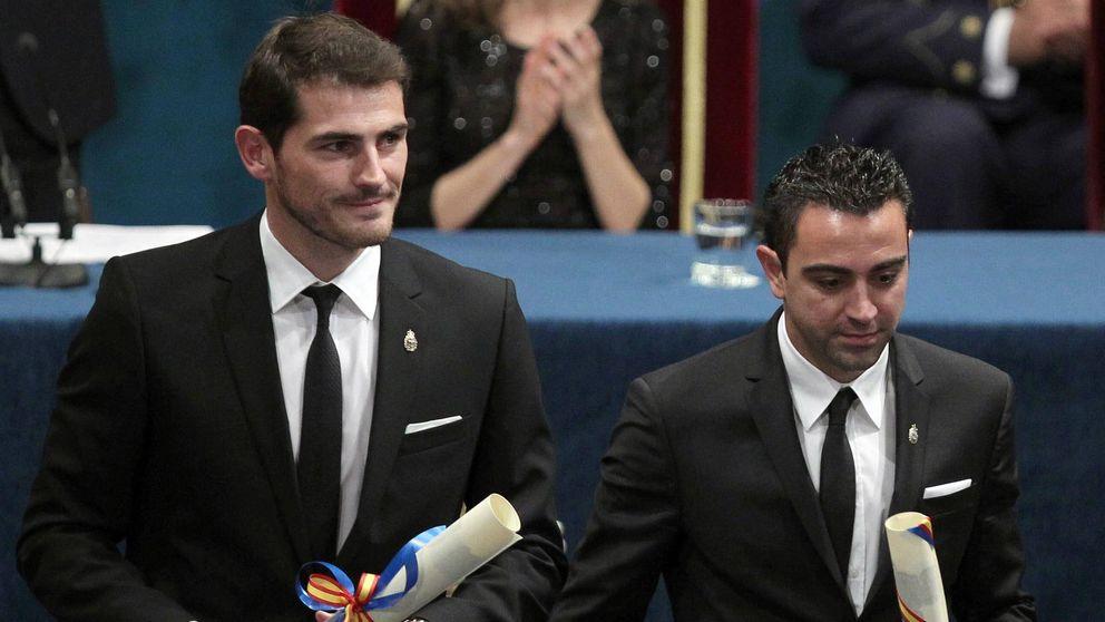 Iker Casillas y Xavi son distinguidos con la Gran Cruz del Mérito Deportivo