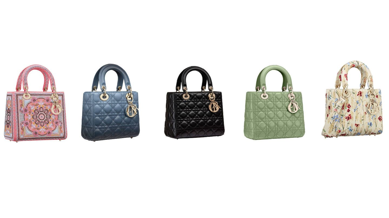 Modelos de Lady Dior colección crucero y primavera-verano. (Cortesía)