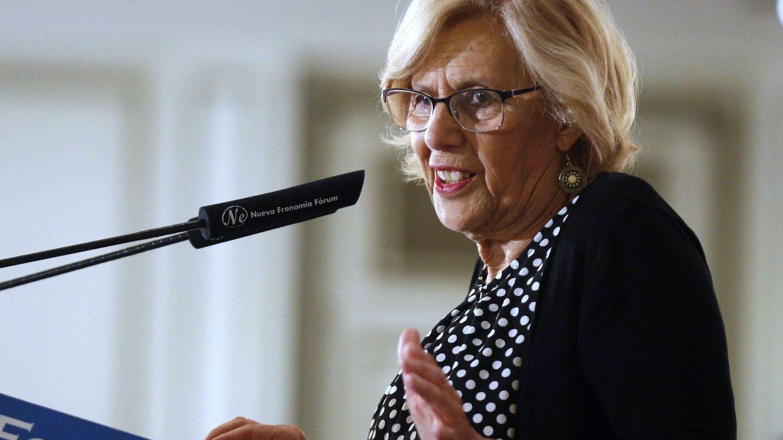 La alcaldesa de Madrid y candidata de Más Madrid al ayuntamiento de capital, Manuela Carmena. (EFE)