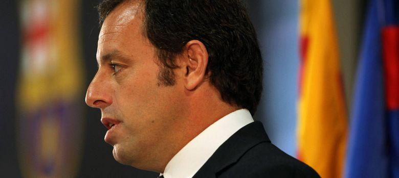Foto: El presidente del Barcelona, Sandro Rosell, vuelve a verse involucrado en problemas con sus empresas en Brasil.