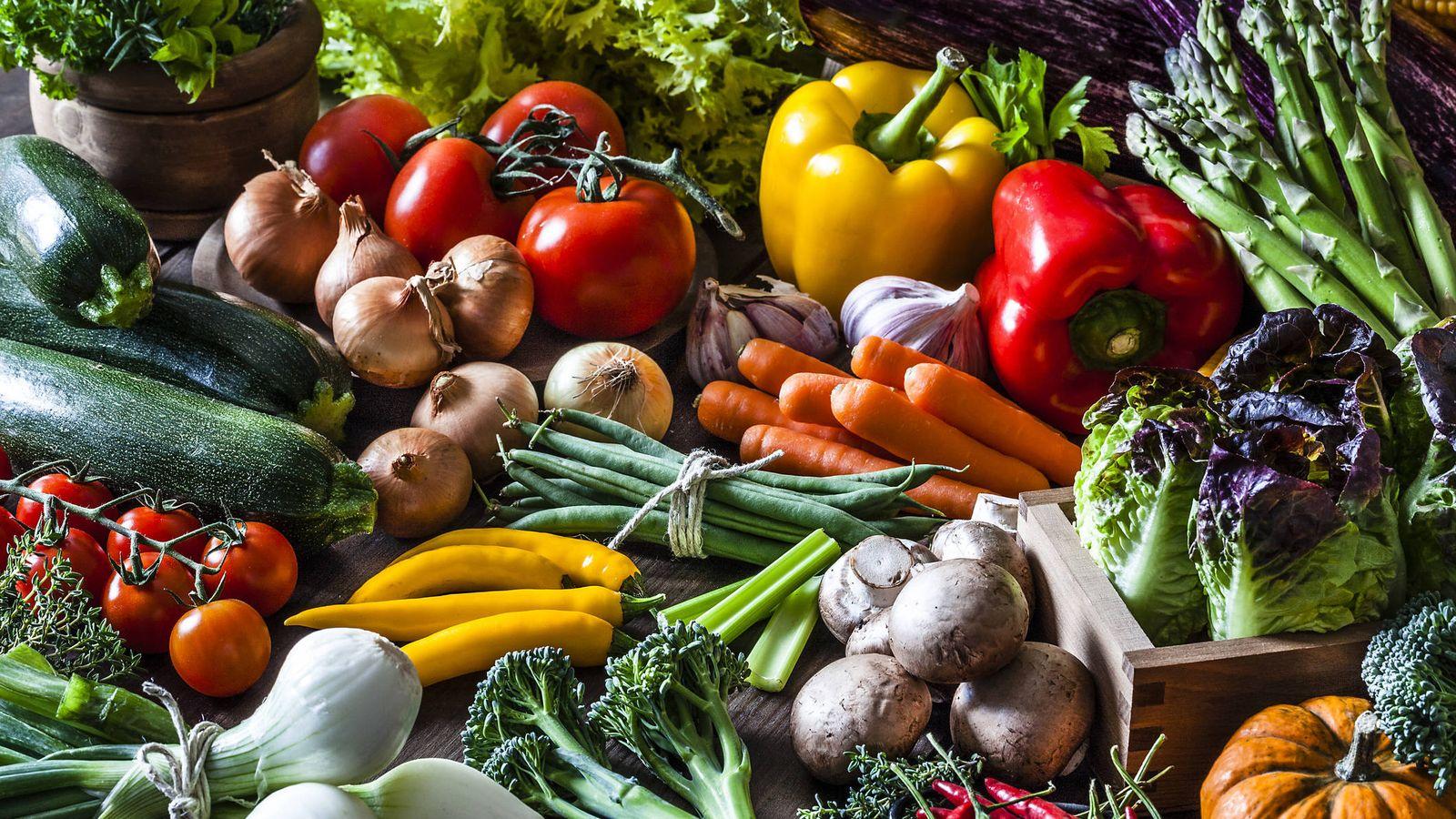 Dietas vegetarianas para adelgazar