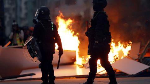 Vuelve la violencia a las calles de Hong Kong tras dos semanas de calma