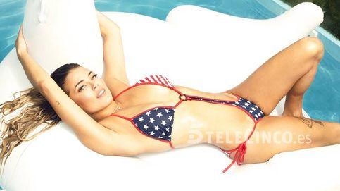 Aly Eckmann saca su lado más sexy en una pool party rodeada de amigos