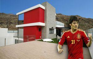 David Silva, del fútbol, a vender pisos de lujo de un millón de euros