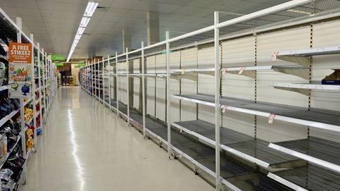 Conservas y papel higiénico: el Covid-19 arrasa los supermercados en Australia