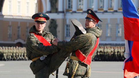 Desfile del Día de la Victoria en San Petersburgo