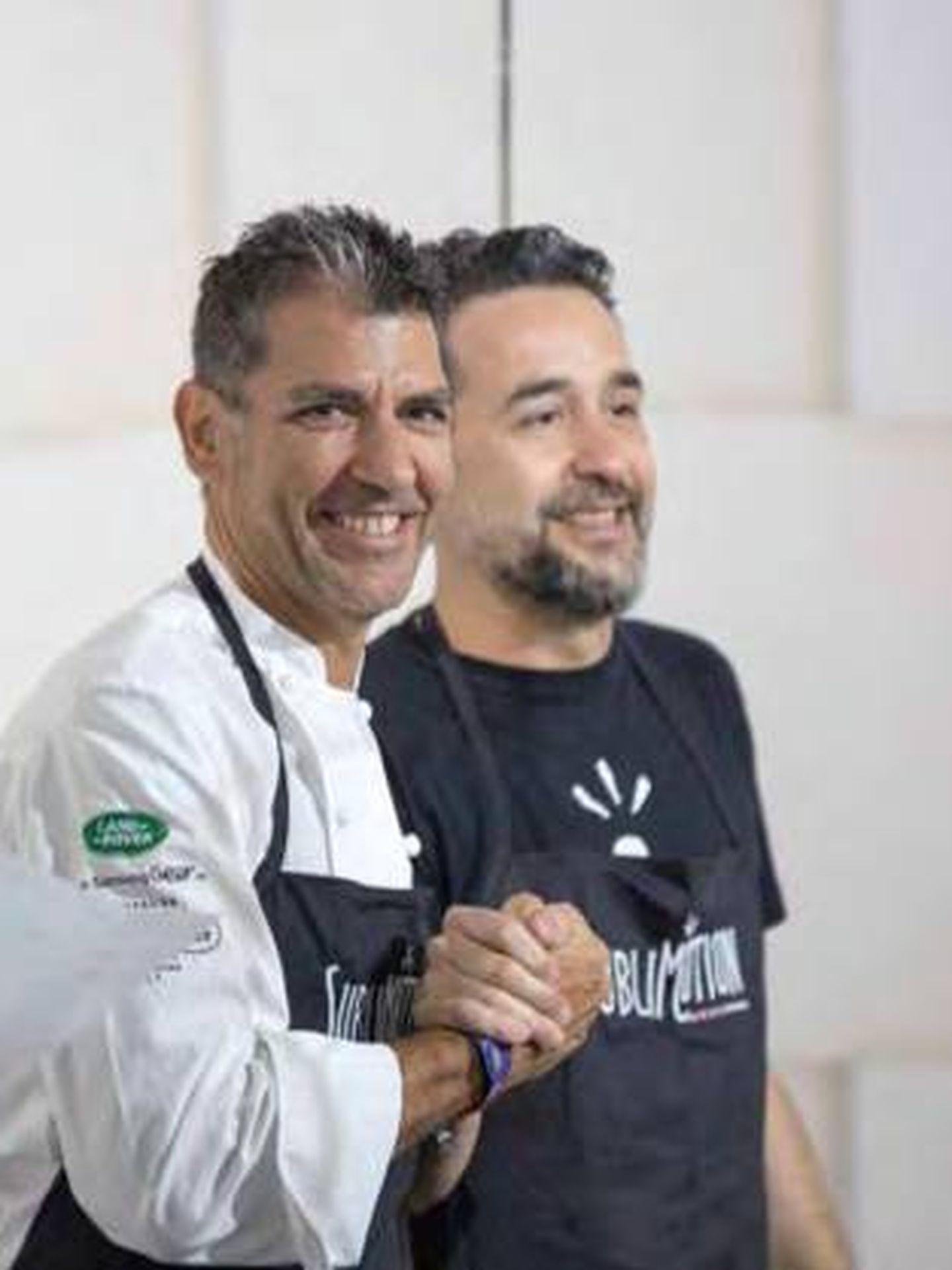 Paco Roncero y Eduardo Gonzáles.