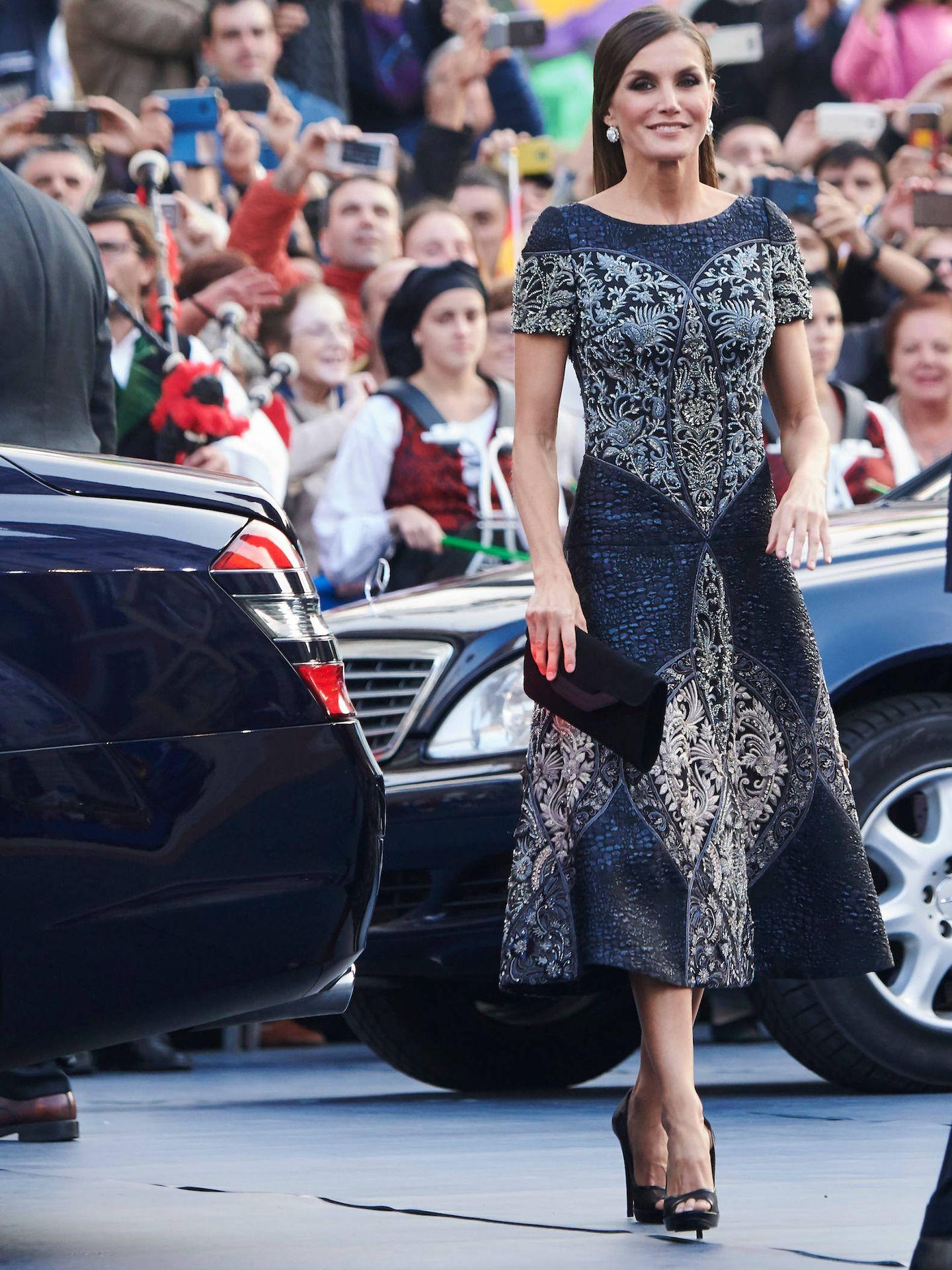 Letizia, en los Premios Princesa de Asturias 2018. (LP)