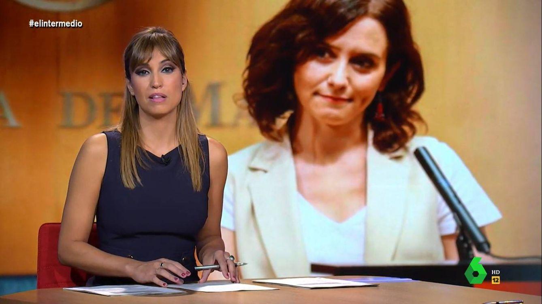 El palo de Sandra Sabatés a Díaz Ayuso por estas imágenes de vergüenza en Madrid
