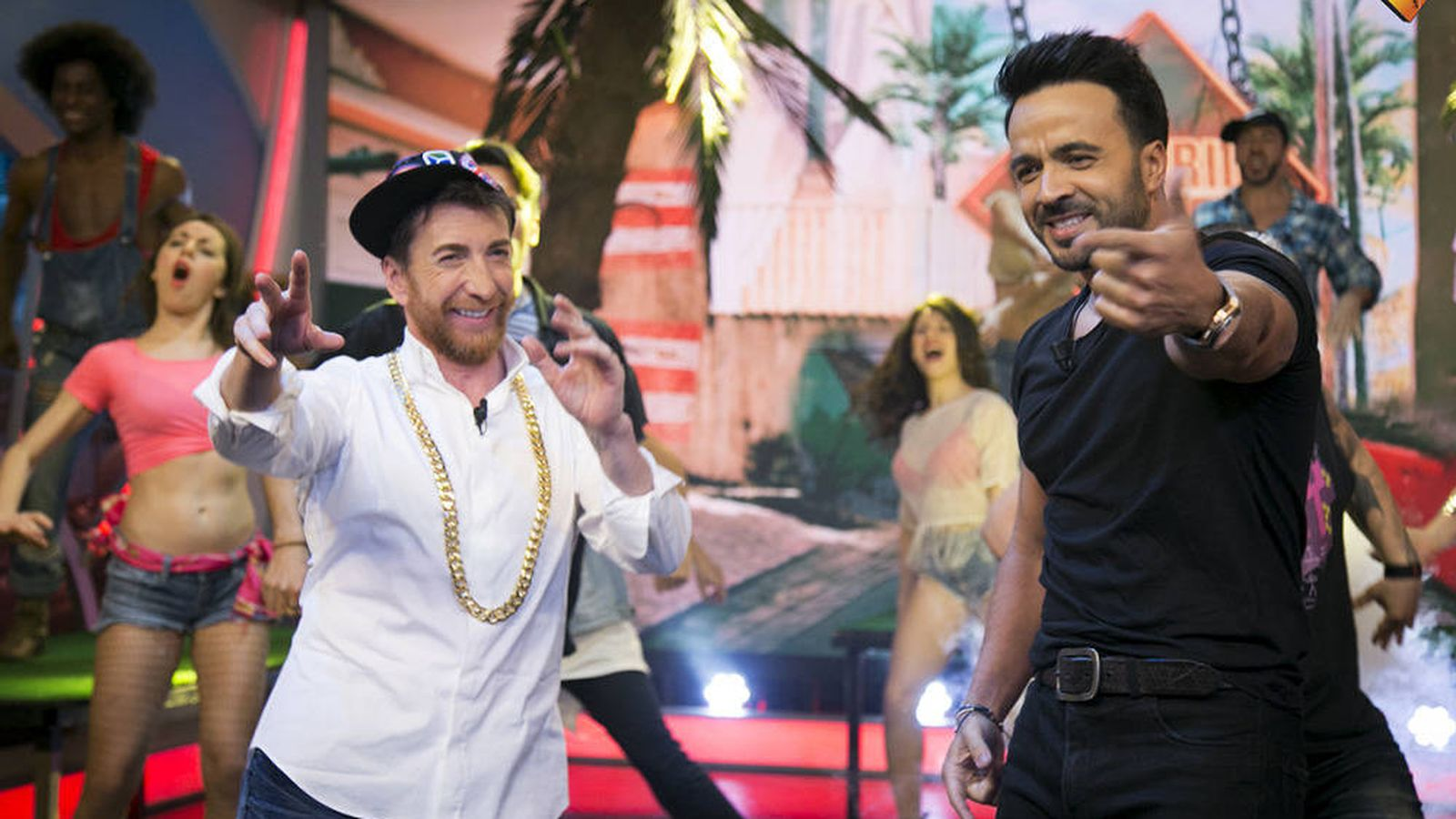 Foto: Pablo Motos se anima a bailar el 'Despacito' de Luis Fonsi.