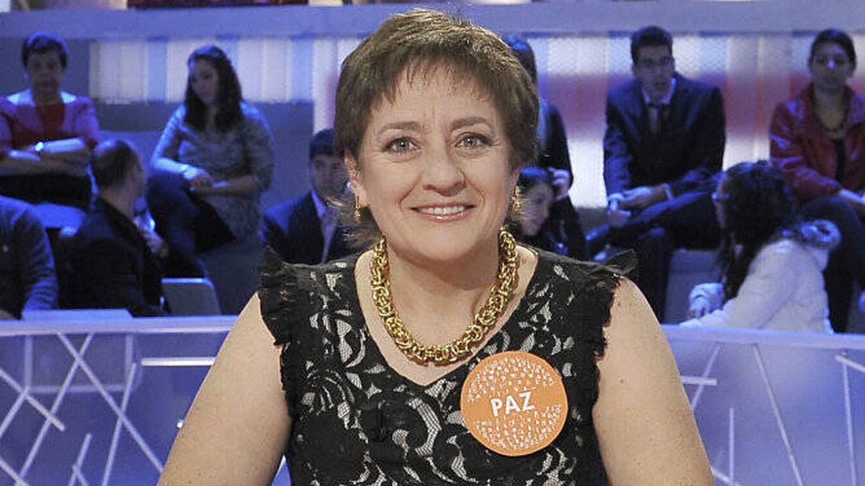 Paz Herrera, en una de sus etapas en Telecinco. (Mediaset)