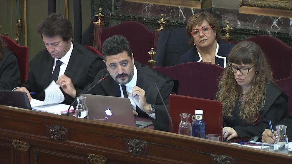 La declaración en el 'juicio del procés' de un guardia civil: Vimos a Quim Torra sacando cajas de papeletas