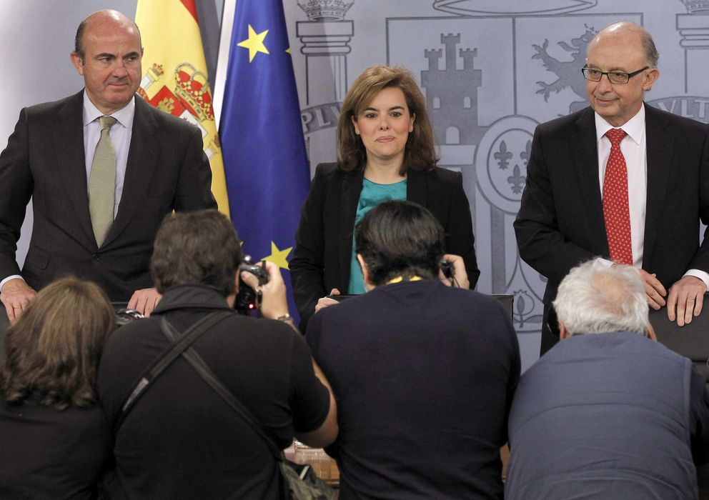 Foto: Rueda de prensa del Consejo de Ministros (Efe)