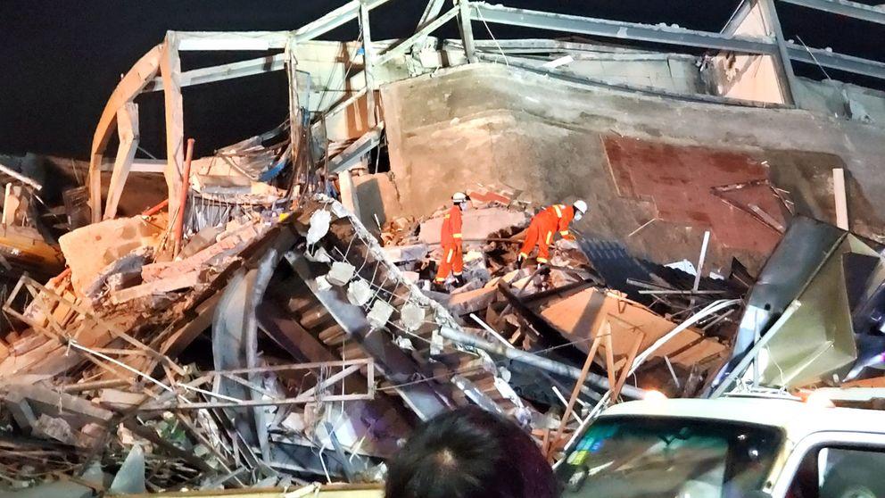 Se derrumba un hotel en cuarentena en China con afectados del coronavirus