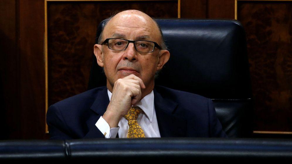 Foto: Cristóbal Montoro, en el Congreso. (Reuters)