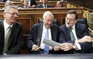 Rubalcaba aparca el acoso a Rajoy por el caso Bárcenas en el Congreso
