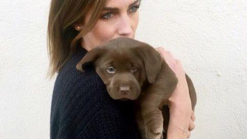 Nieves Álvarez muestra su lado más tierno con un cachorro