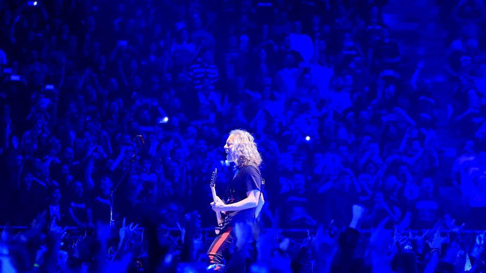 Foto: Reciente concierto de Metallica en el WiZink Center de Madrid. (EFE)