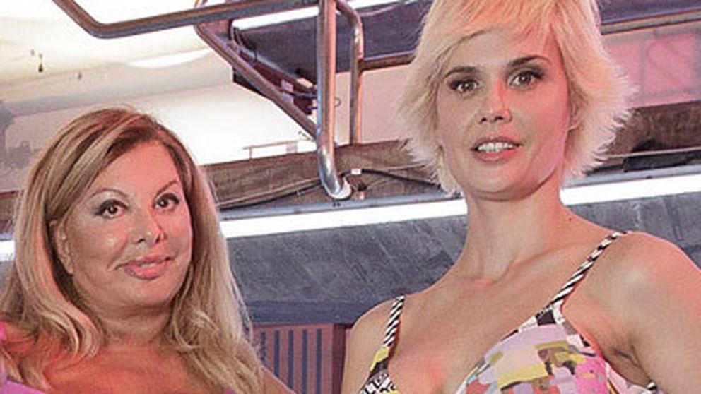 Miriam Sánchez, Olivcia Valere y Andrea Huisgen, primeras eliminadas de '¡Mira quién salta!'