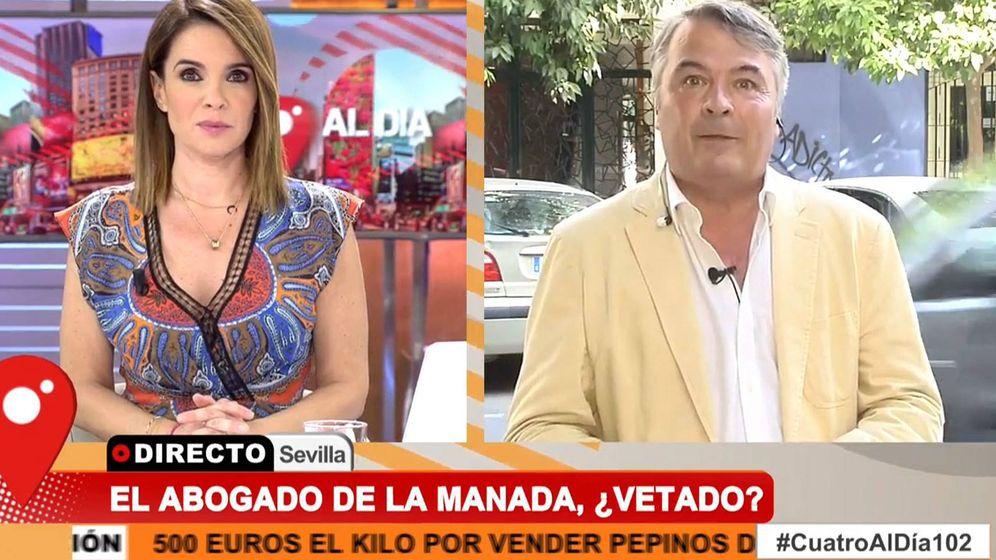 Foto: Carme Chaparro y Agustín Martínez. (Mediaset España)