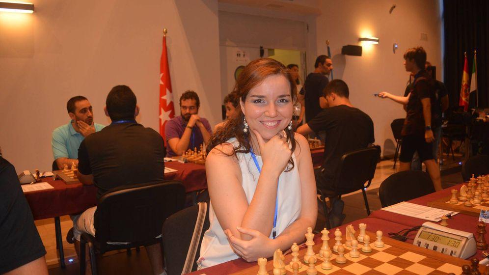 Foto: Sabrina Vega es en la actualidad la mejor jugadora del ajedrez español
