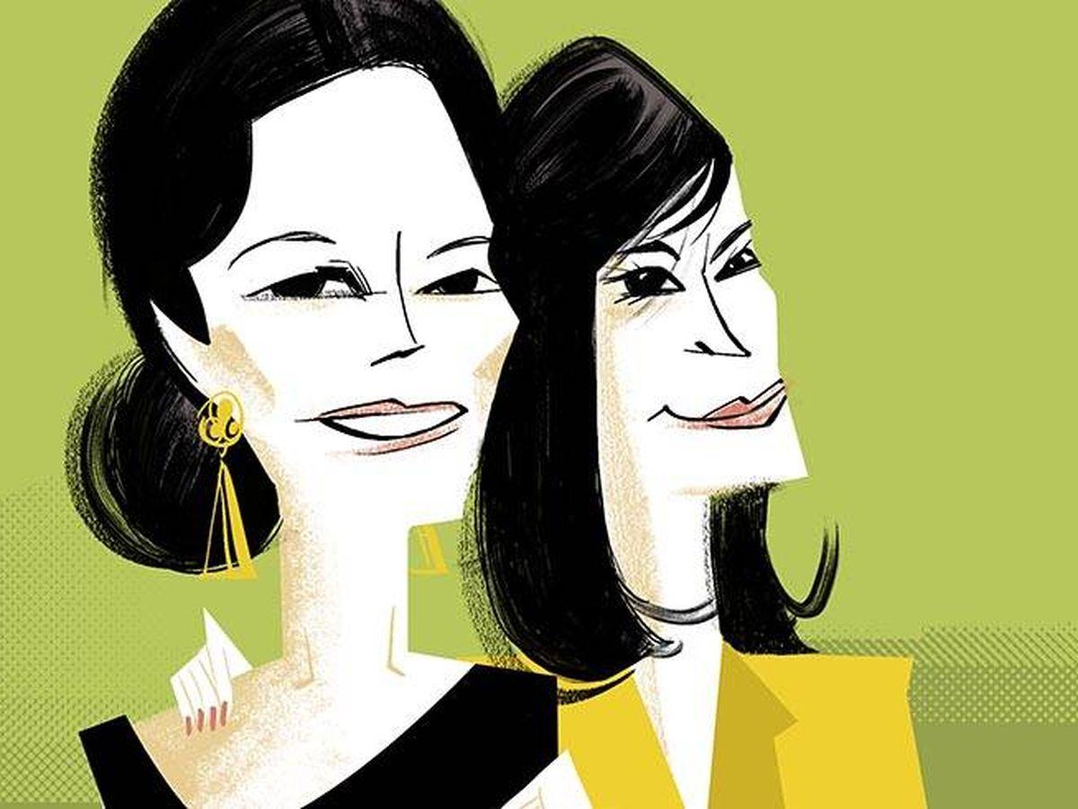 Foto: Preysler y Martínez-Bordiú. (Ilustración: Jate)