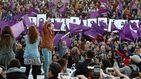 Iglesias pide el 'voto doble' para frenar a la derecha y tener un gobierno progresista