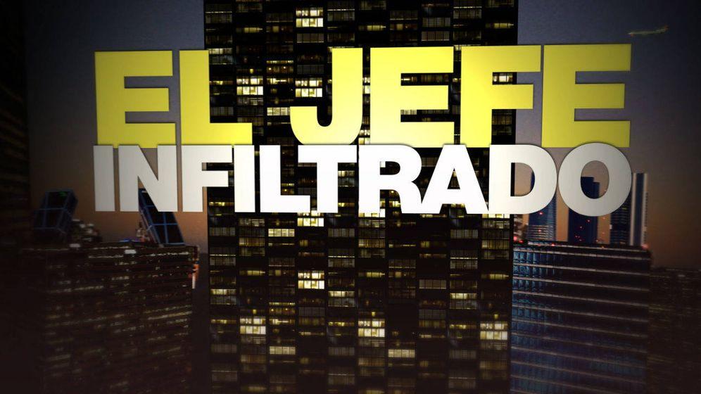 Foto: Logotipo de 'El jefe infiltrado'. (Atresmedia)