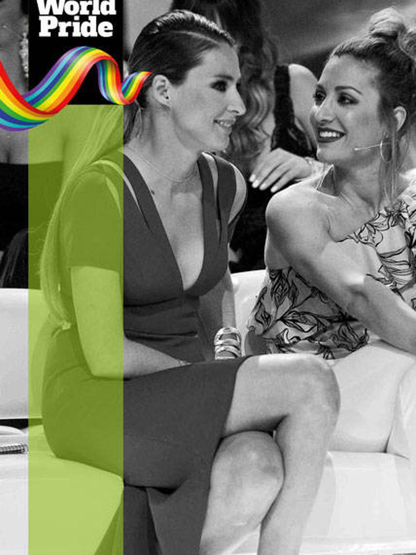 Orgullo LGTBI 2017: Sandra Barneda y Nagore Robles.