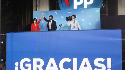 Casado se sube al tsunami de Ayuso: Hoy es Madrid. Podemos ganar a Sánchez