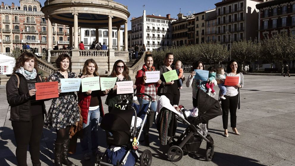 Desestiman la reclamación de la devolución del IRPF por maternidad en Navarra