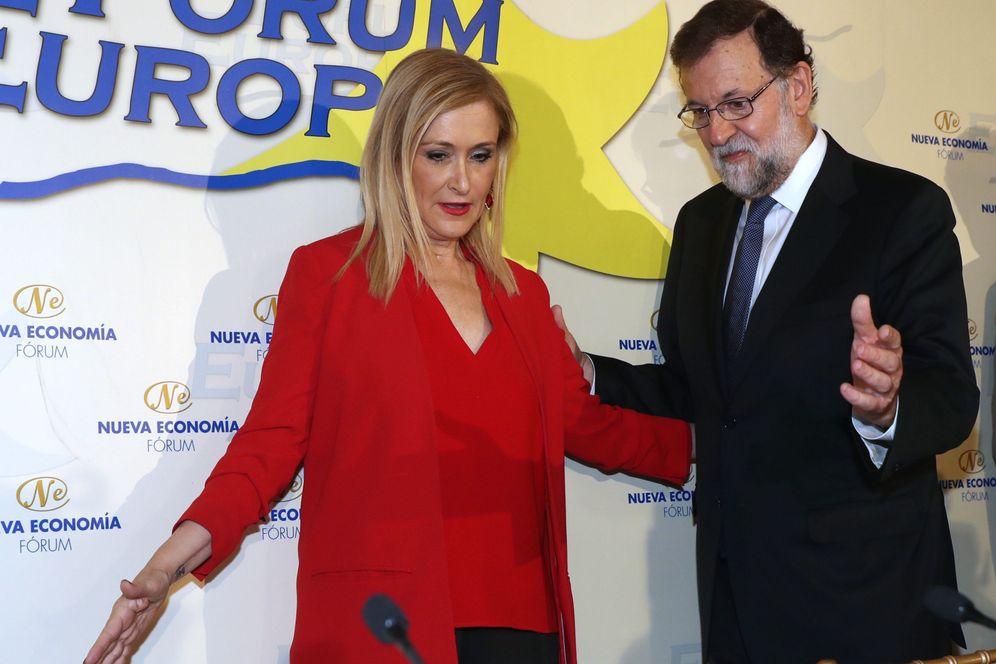 Foto: Cristina Cifuentes y Mariano Rajoy
