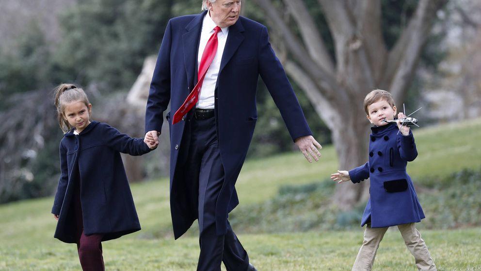 Donald Trump volverá a ser abuelo: el noveno nieto para su Equipo Trump