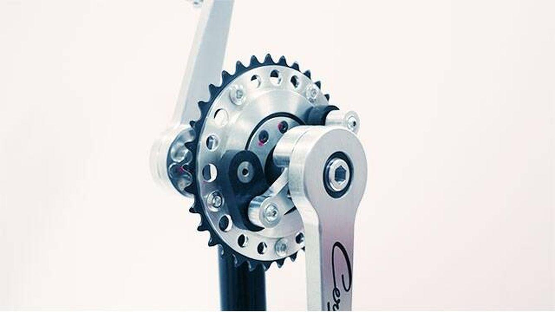 El invento que aumenta un 10% la potencia de pedalada en una bici