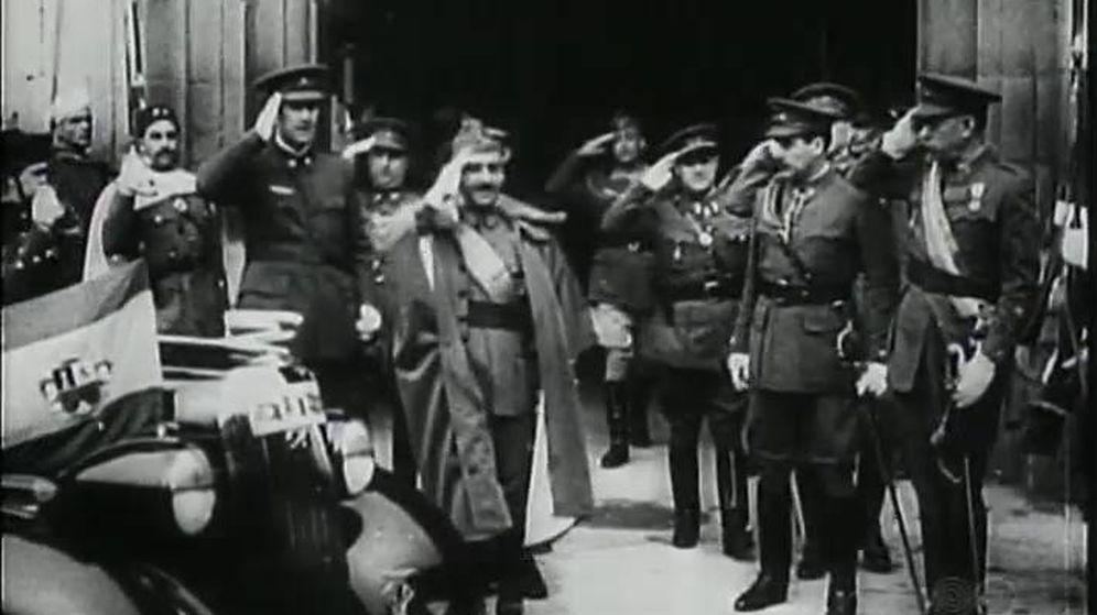 Foto: Un momento de 'España heroica'. (Filmoteca Española)