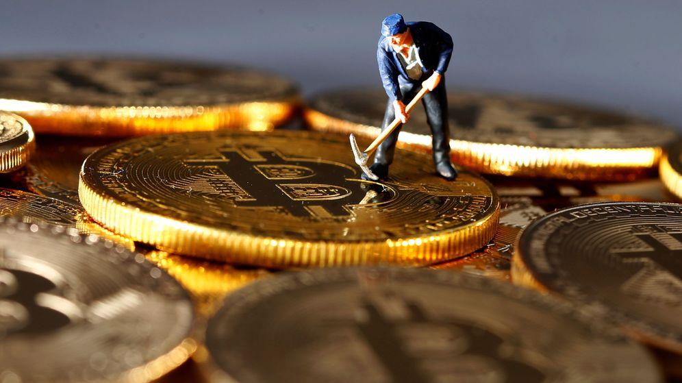 Foto: Ilustración sobre bitcoin.