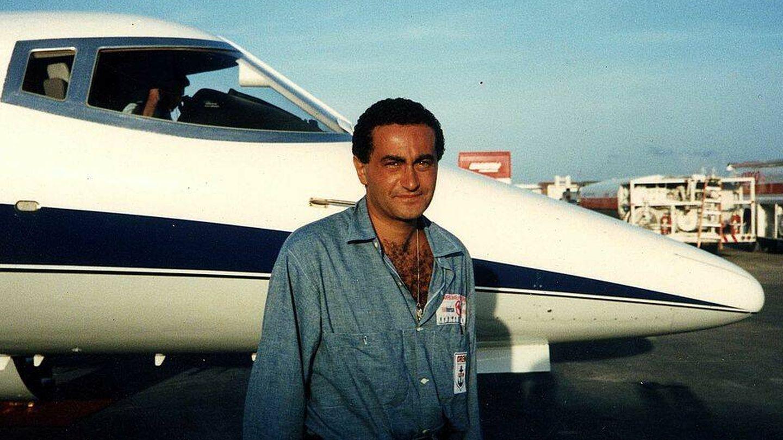 Dodi Al-Fayed, en 1987. (Getty)