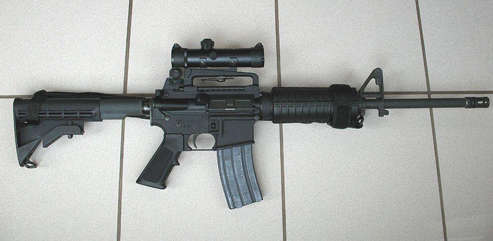 Foto: El fusil semiautomático AR-15, el más vendido en EEUU, fue usado el año pasado en la matanza de Orlando, que dejó 50 muertos y 53 heridos.