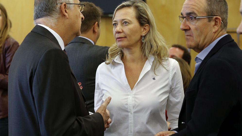 Foto: La diputada de Podemos Victoria Rosell en la Comisión de Justicia del Congreso. (EFE)