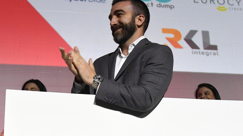 Paco Polo, nuevo alto comisionado España Nación Emprendedora, el pasado 23 de octubre en León. (EFE)
