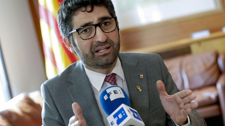 El 'conseller' de Políticas Digitales y Administración Pública, Jordi Puigneró. (EFE)
