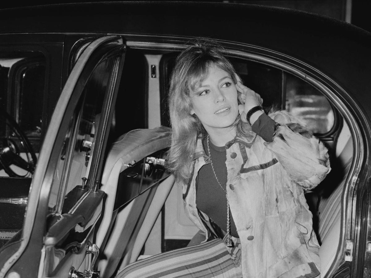Foto:  Nathalie Delon, en una imagen de 1968. (Getty)