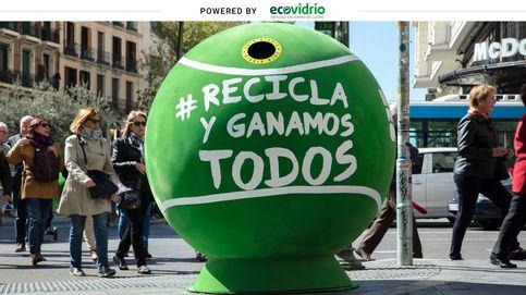 La España más sostenible: el reciclaje de vidrio bate su récord de la última década